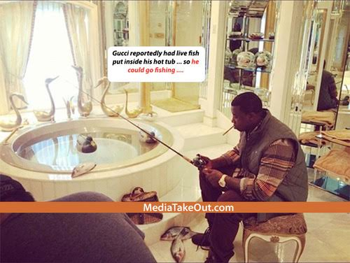 Gucci Fishing. Source: MediaTakeOut.com